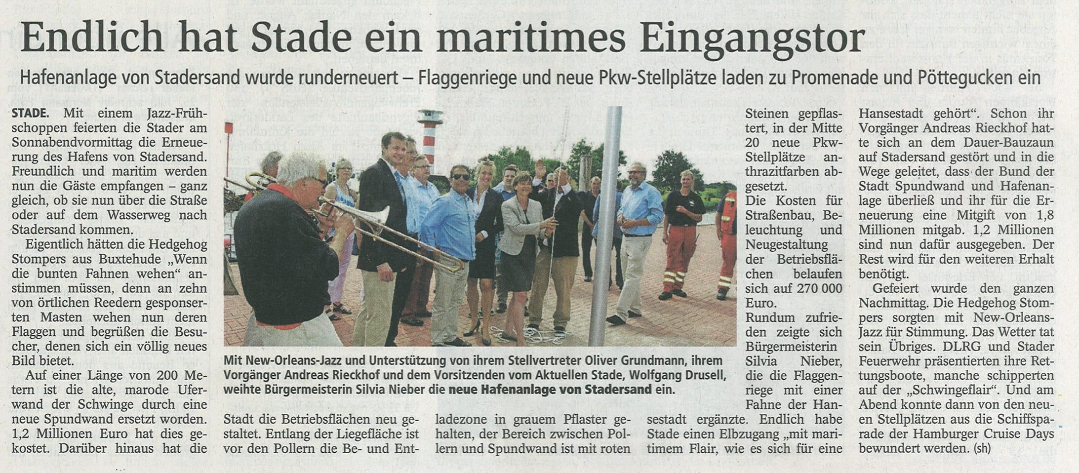 Stader Tageblatt 04.08.2014
