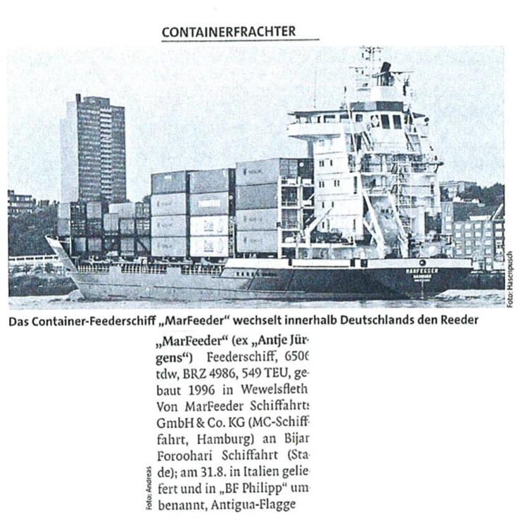THB Deutsche Schifffahrtszeitung 08.2011