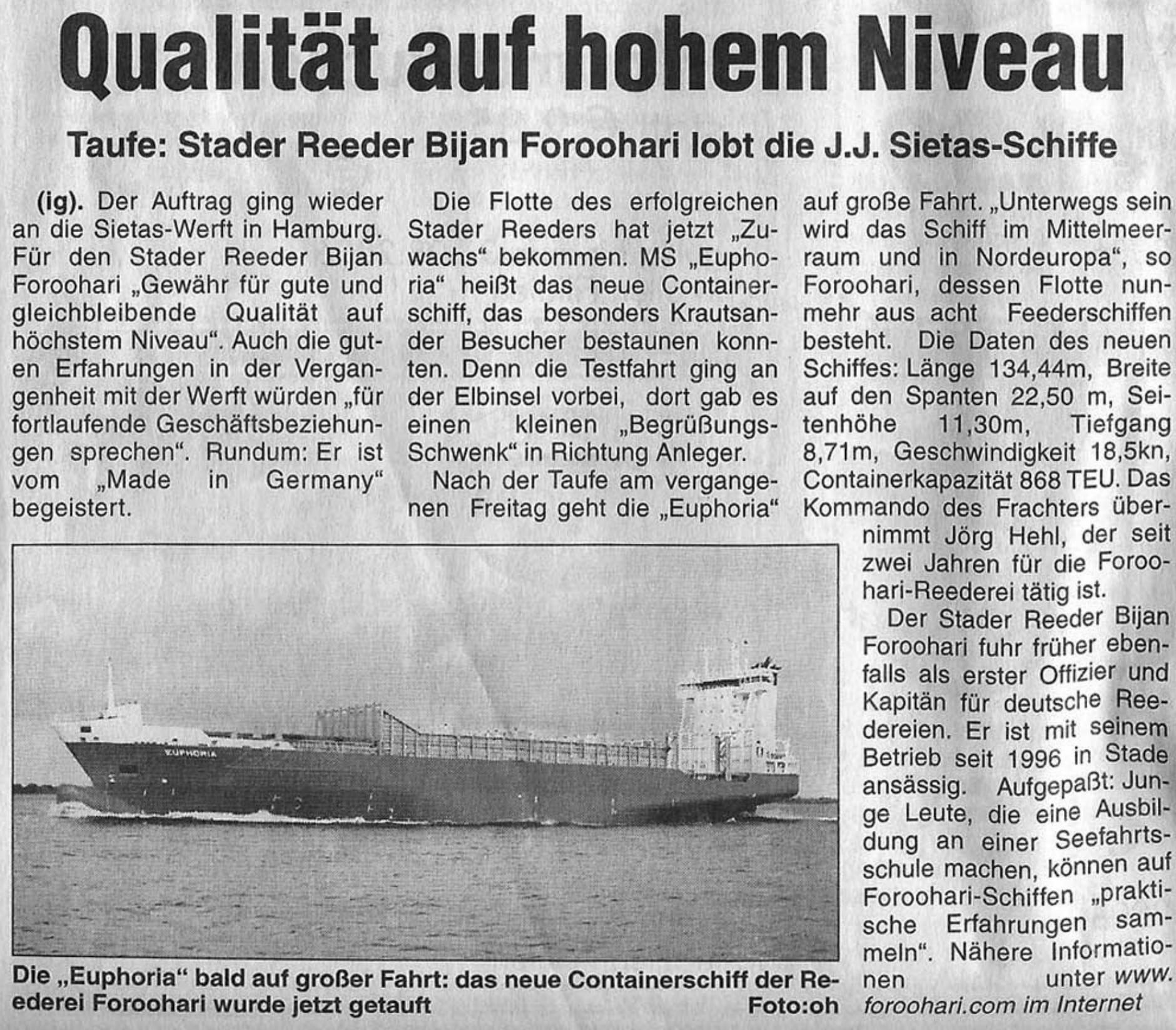 Stader Wochenblatt 19.08.2006