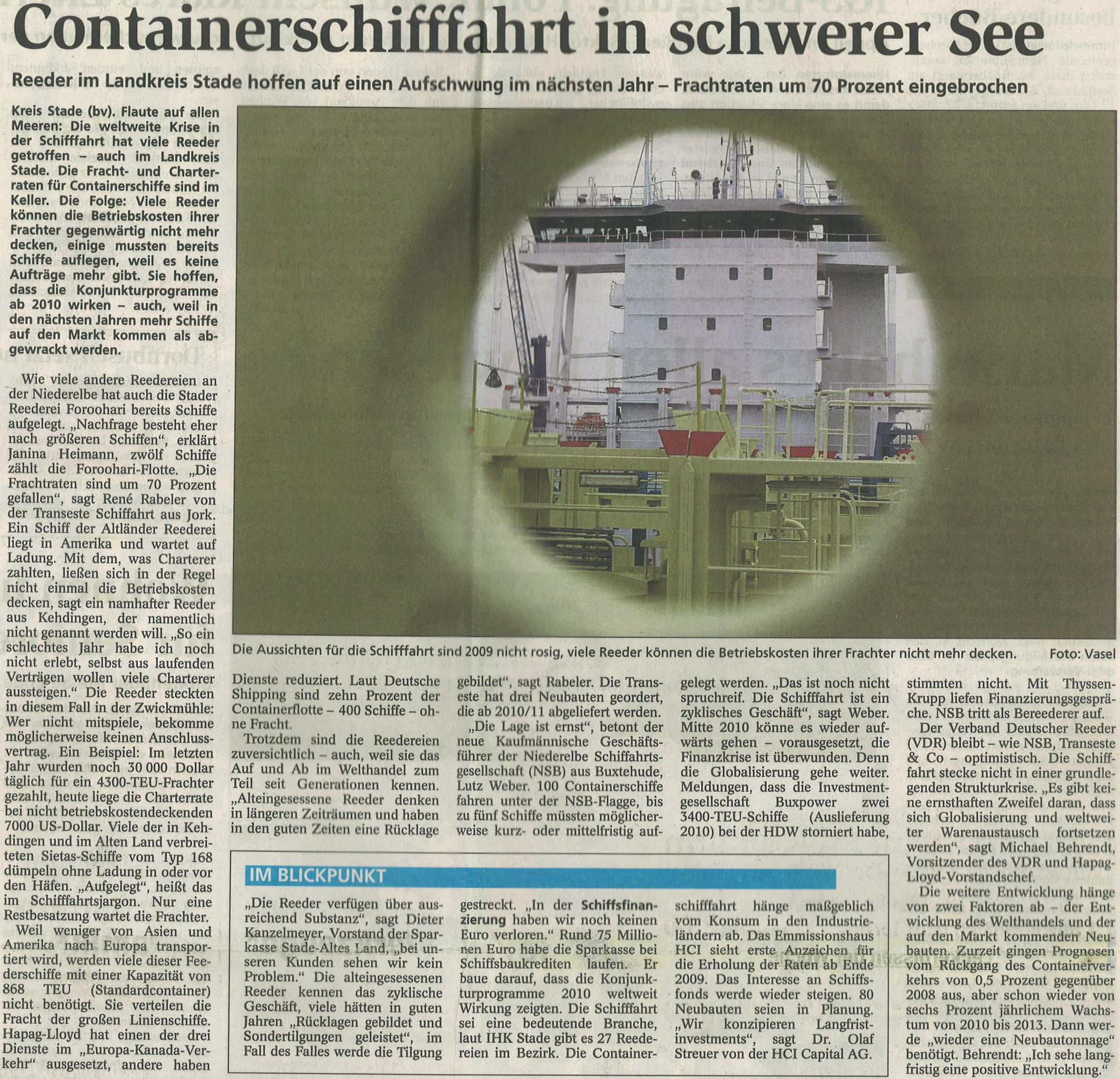 Stader Tageblatt 19.03.2009