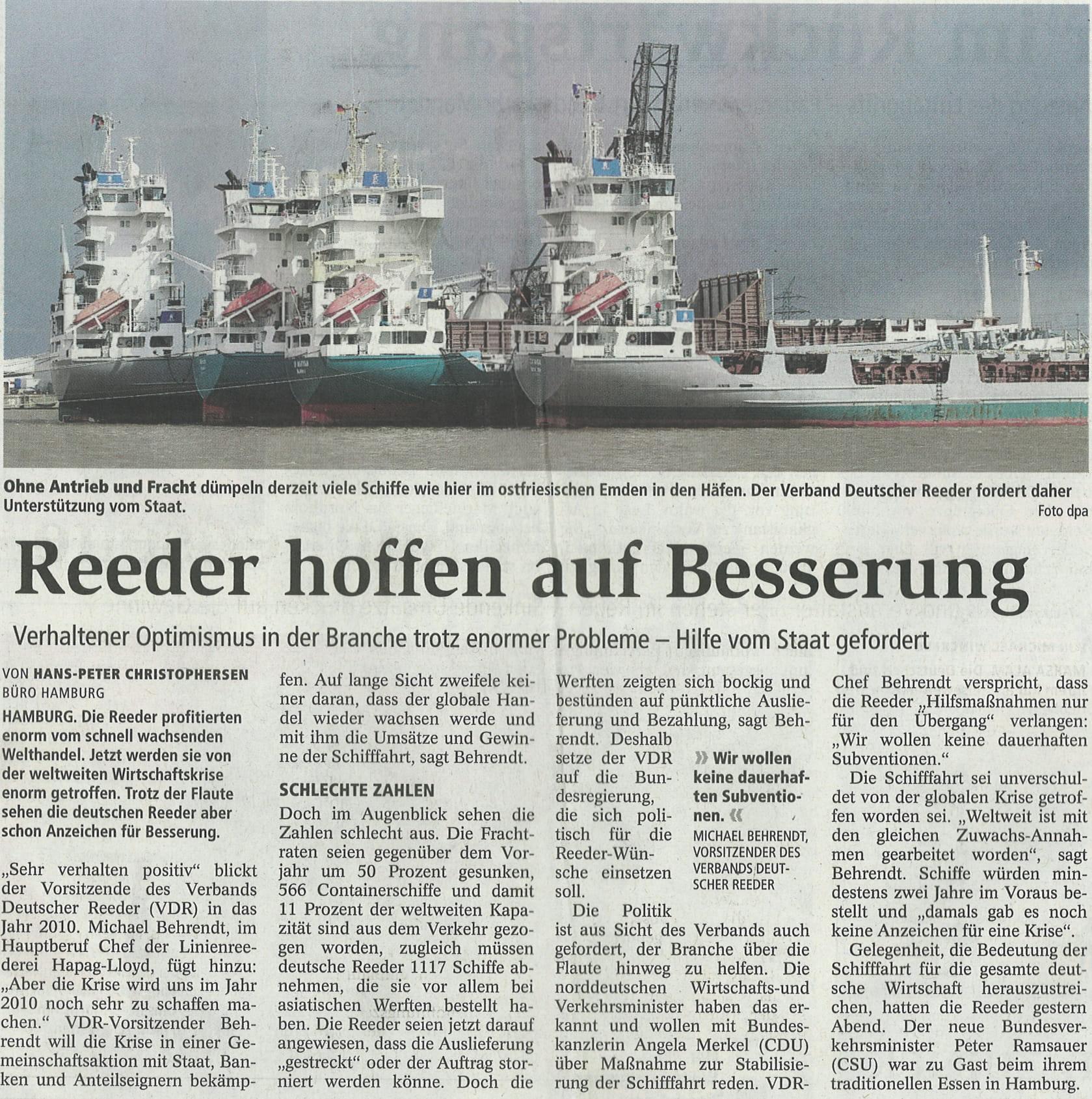 Stader Tageblatt 04.12.2009